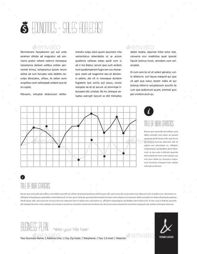 53 Pages Full Business Plan Template Us Letter By Keboto