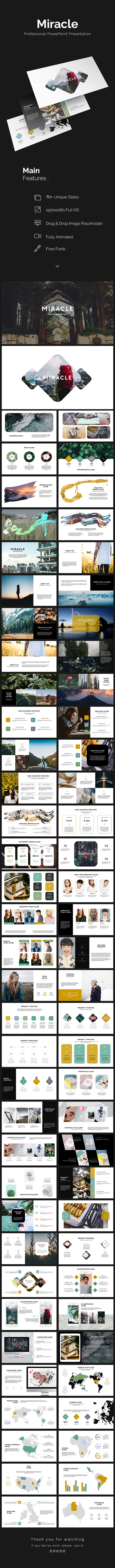 Miracle Presentation - PowerPoint Templates Presentation Templates