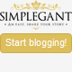 New Simplegant - A Responsive Blogger Blog Theme - ThemeForest Item for Sale