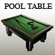 Billiard (Pool) Table - 3DOcean Item for Sale