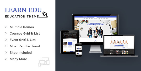 Learn Education University of Education - Educational HTML5 Template