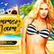 Summer Jam Party Flyer vol.1 - GraphicRiver Item for Sale