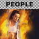 PSD - People ART Wallpaper