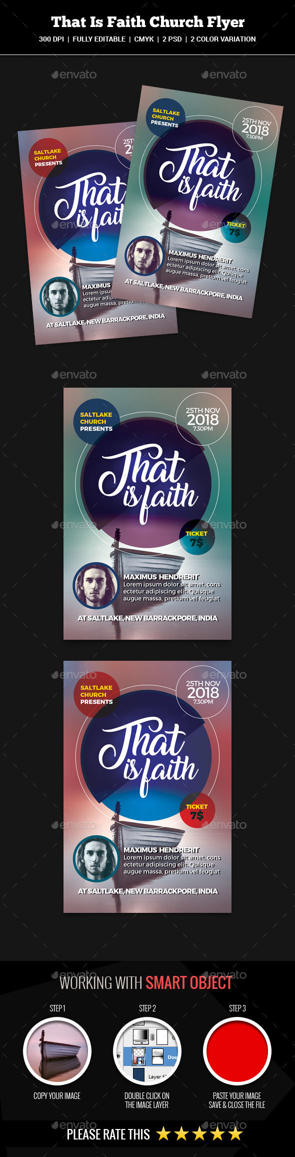 That Is Faith Church - Church Flyers