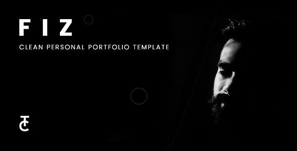Fiz | Clean Personal Portfolio Joomla Template