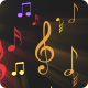 Musical Note Symbols Background Nulled