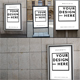 Poster Mock-Ups - GraphicRiver Item for Sale