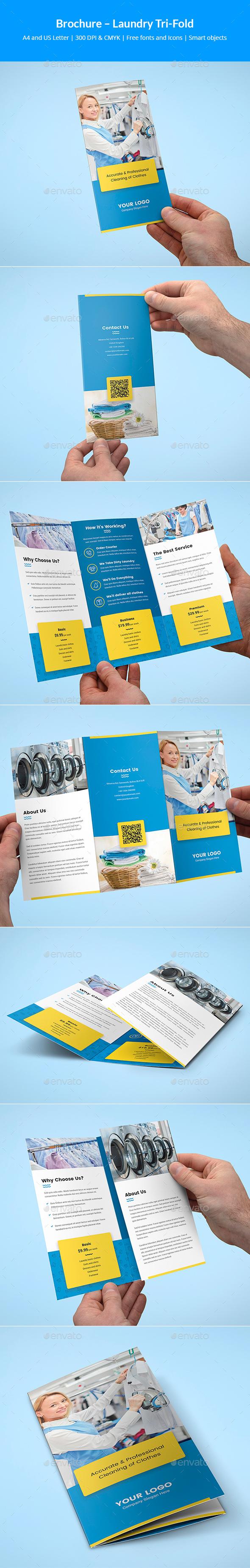 Brochure – Laundry Tri-Fold - Corporate Brochures