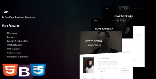 Freelancer – Personal One Page Template