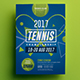 Tennis Championship Flyer 02 - GraphicRiver Item for Sale
