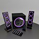 Beautiful set of audio system