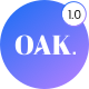 OAK - Creative Portfolio WordPress Theme