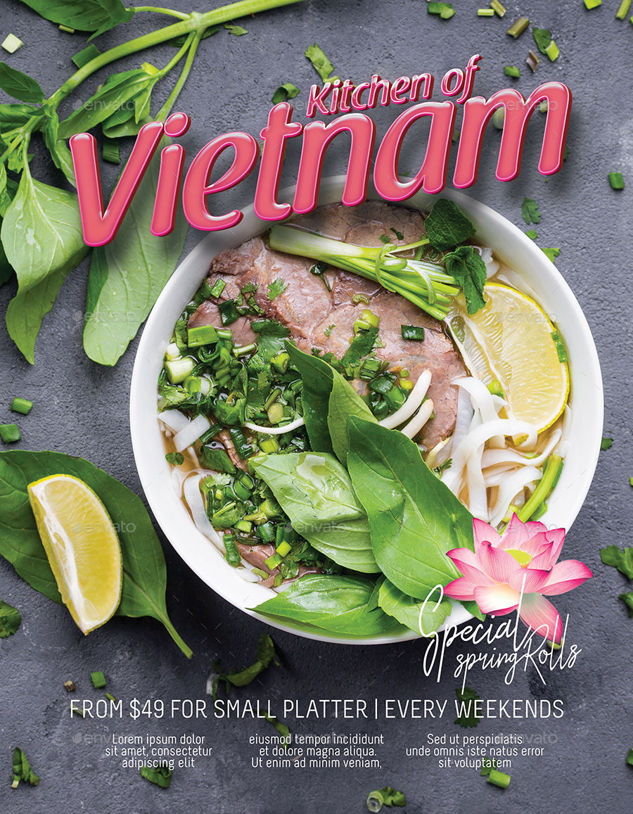 Template of vietnamese food restaurant menu by tunagaga graphicriver vietnam food1g vietnam food2g toneelgroepblik Images