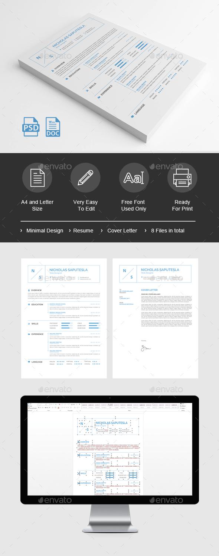 Minimal Resume - Resumes Stationery