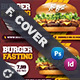 Fast Food Burger Cover Templates - GraphicRiver Item for Sale