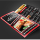 Trifold Menu Template Vol.14 - GraphicRiver Item for Sale