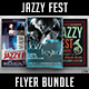 Jazzy Fest Flyer Bundle - GraphicRiver Item for Sale