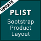 PList - Bootstrap Product Layout Pack - CodeCanyon Item for Sale