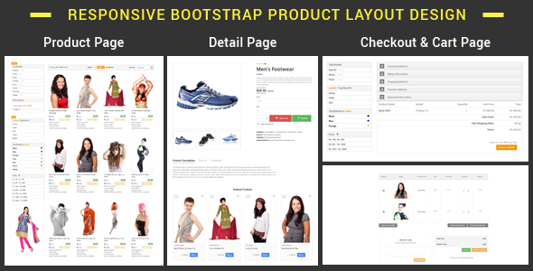 plist bootstrap product layout pack codecanyon item for sale