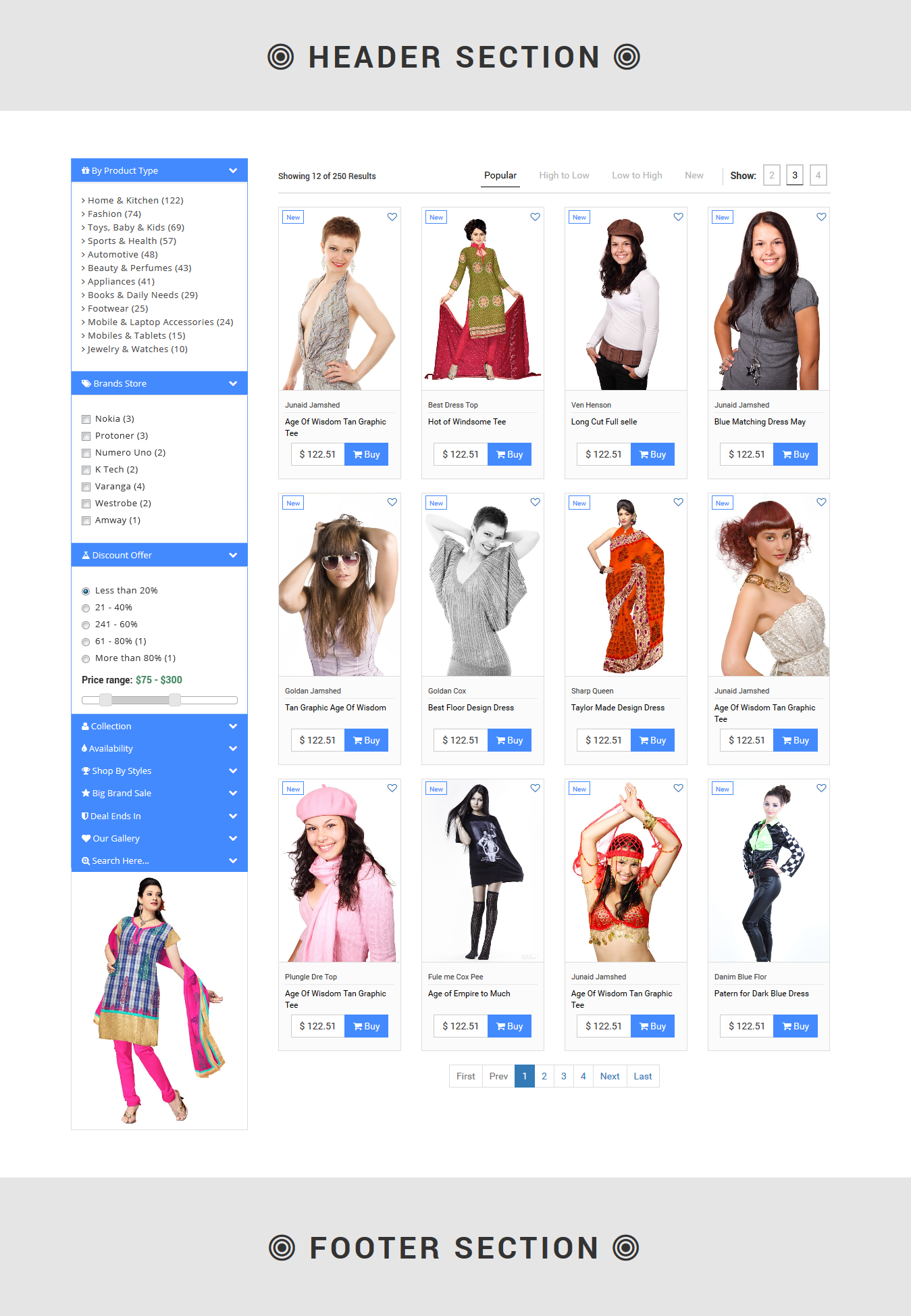 PList - Bootstrap Product Layout Pack by Designcollection | CodeCanyon