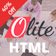 Olite - One Page Multipurpose HTML5 Template Nulled