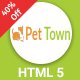 PetTown - Blog & Shop Responsive HTML5 Template - ThemeForest Item for Sale