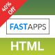 FASTAPPS Creative Mobile Apps Multiplepurpose HTML5 Template