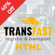 Transfast - Logistic and Transport - HTML Template Nulled