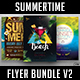 Summertime Flyer Bundle V2 - GraphicRiver Item for Sale