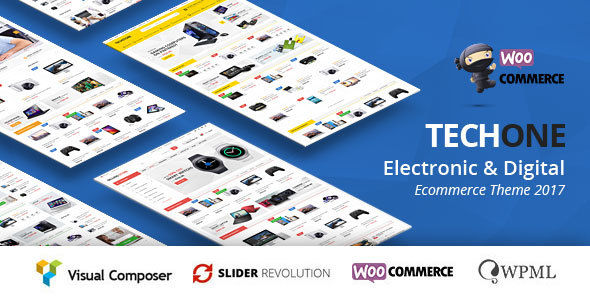 Image of TechOne - Multipurpose WooCommerce Theme