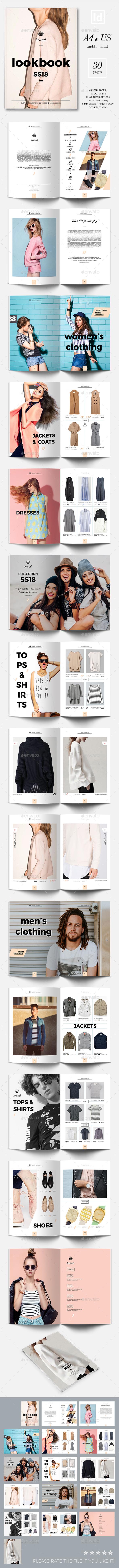 Lookbook 04 Template - Magazines Print Templates