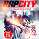 Rap City Flyer Template - GraphicRiver Item for Sale