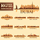 Set of 10 Asian Cities - GraphicRiver Item for Sale