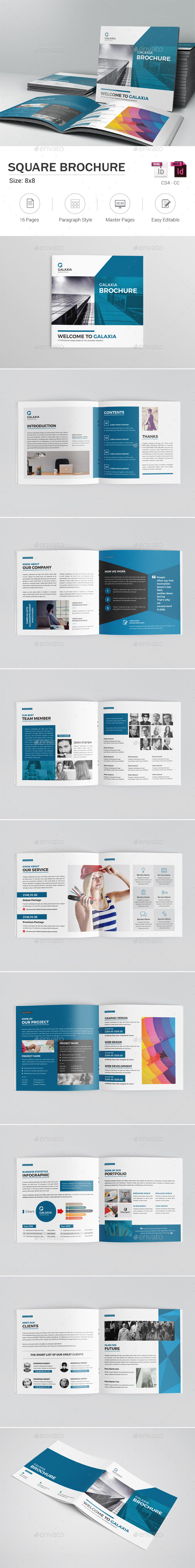 Square Brochure - Corporate Brochures