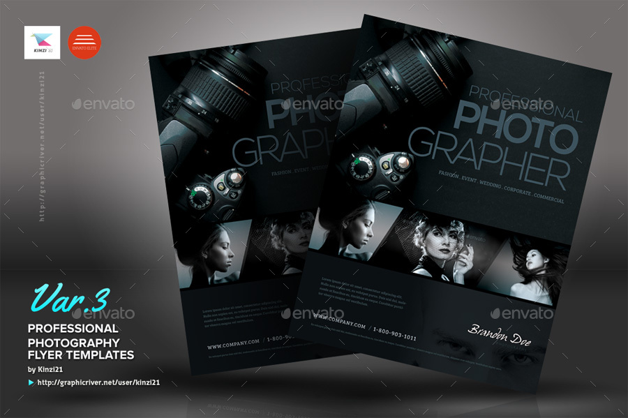 Professional Photography Flyers By Kinzi21 | Graphicriver
