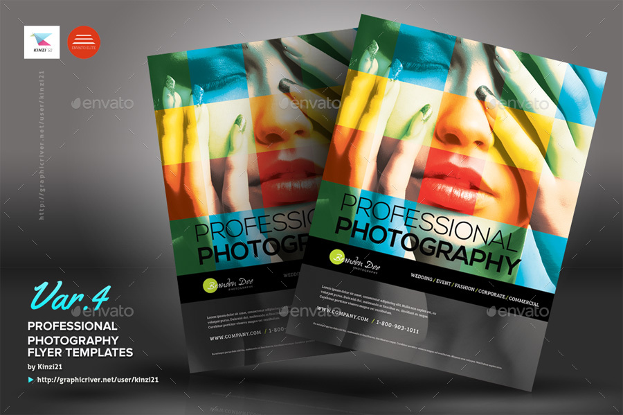 Professional Photography Flyers By Kinzi  Graphicriver