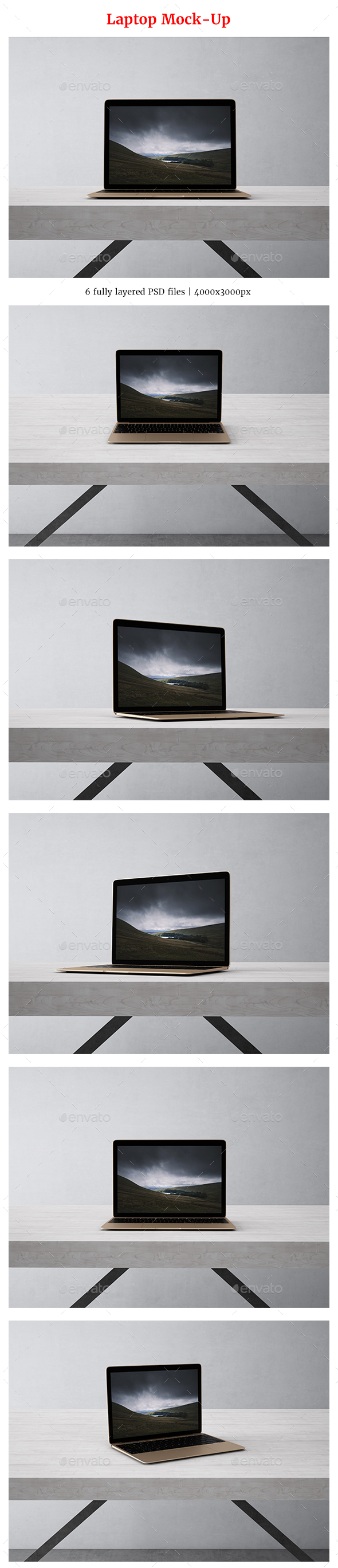 Laptop Mock-Up - Laptop Displays