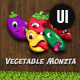 Vegetable Monzta - UI Kit - GraphicRiver Item for Sale