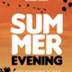 Summer Evening Flyer - GraphicRiver Item for Sale