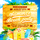 Summer Jam Party Flyer vol.4 - GraphicRiver Item for Sale