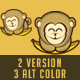 Little Monkey Logo - GraphicRiver Item for Sale
