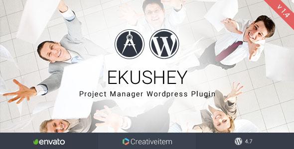 Ekushey Project Manager Wordpress Plugin - CodeCanyon Item for Sale