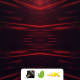 VJ Casino Red Streaks Particles - VideoHive Item for Sale