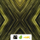 VJ Gold Kaleidoscope Particles - VideoHive Item for Sale