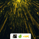 Falling Green Yellow Particles - VideoHive Item for Sale