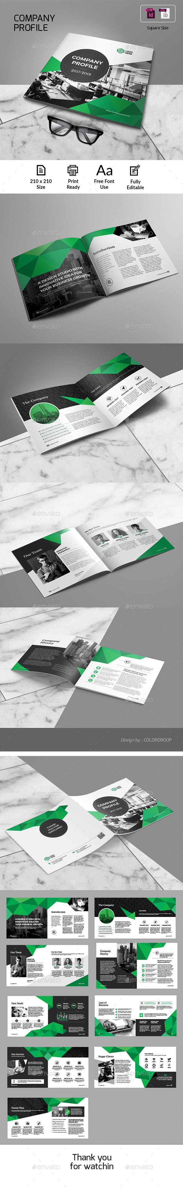 Company Profile_Square - Corporate Brochures