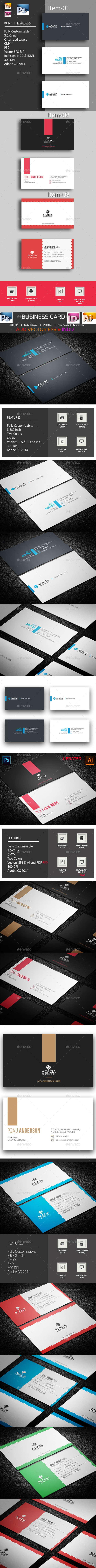 B. Card Bundle_14 (03 items) - Corporate Business Cards