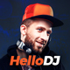 HelloDJ - DJ / Producer / Music Band Responsive Muse Template Nulled