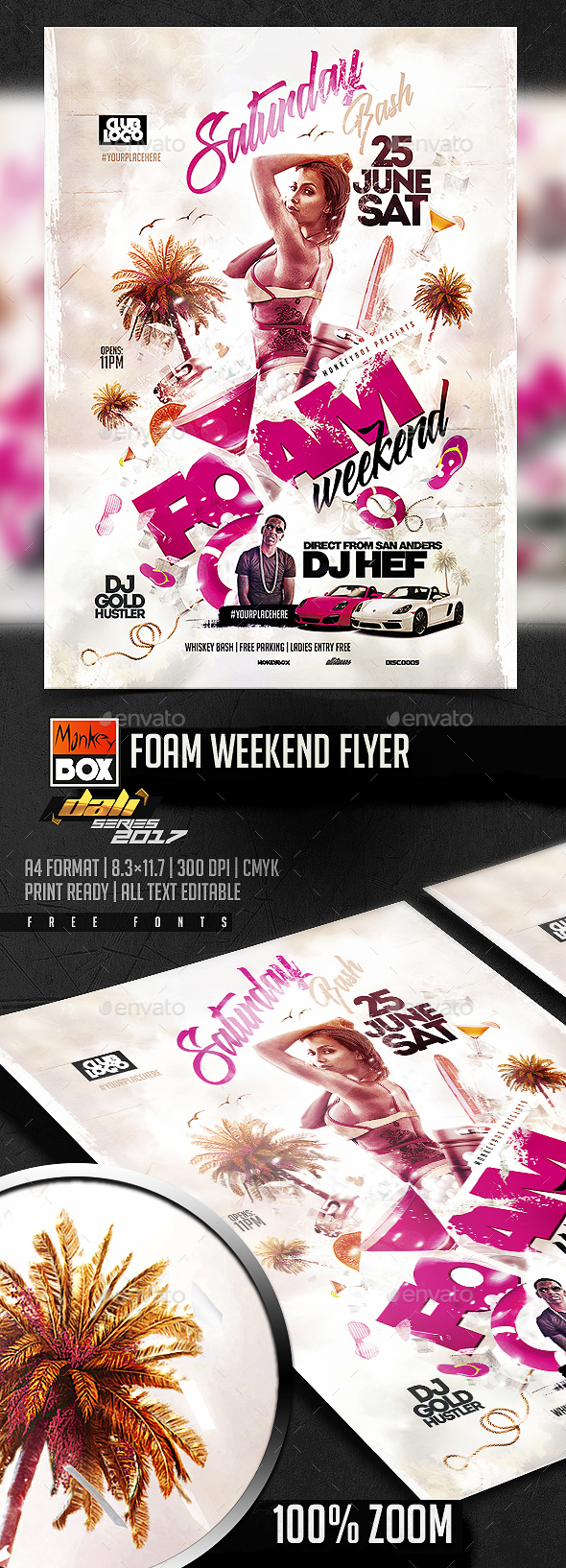 Foam Weekend Flyer - Events Flyers