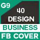 Facebook Cover - 40 Design - 10 Set - GraphicRiver Item for Sale